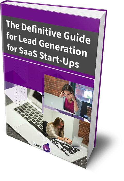 Image of Brandfires definitive guide for lead generation for SaaS start-ups