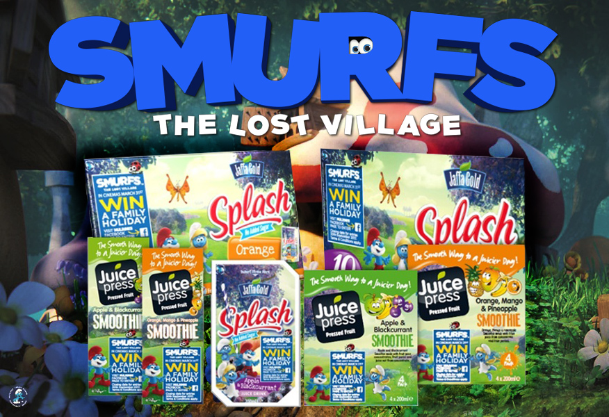 Image of Mulrines & Sony Pictures Smurfs, The Lost Village Promo