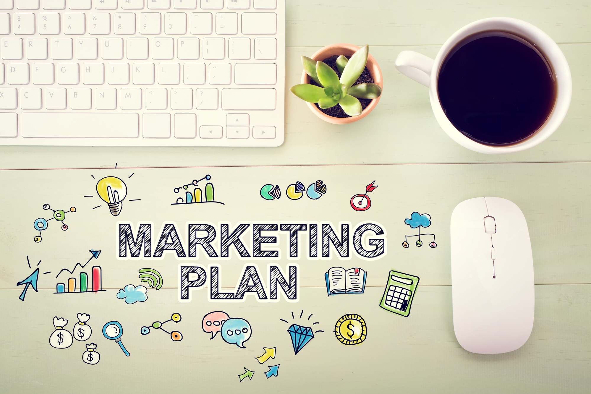 5 things to consider when you create your marketing plan